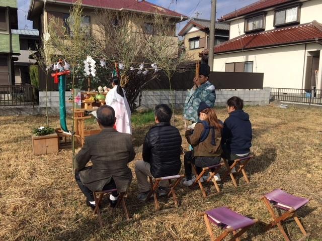 菊川市M様邸地鎮祭