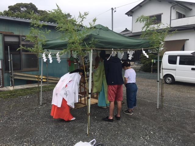掛川市K様邸地鎮祭