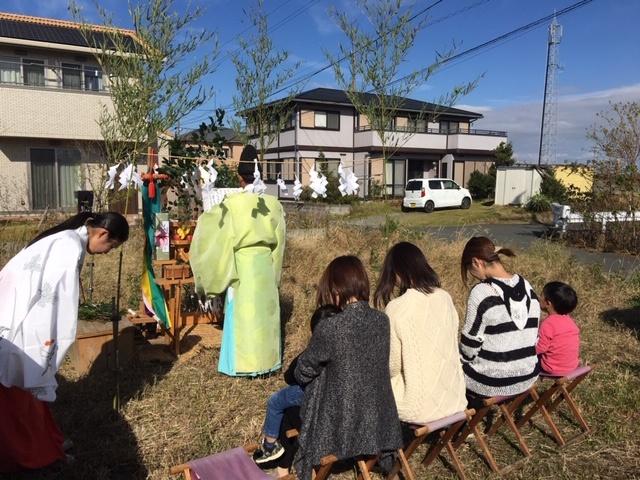 澤村邸 地鎮祭