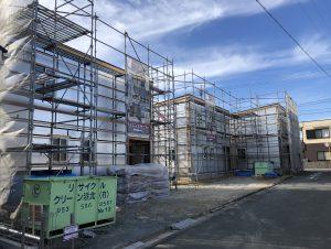 浜松市西区 Y様 賃貸物件A棟・B棟・C棟 中間検査